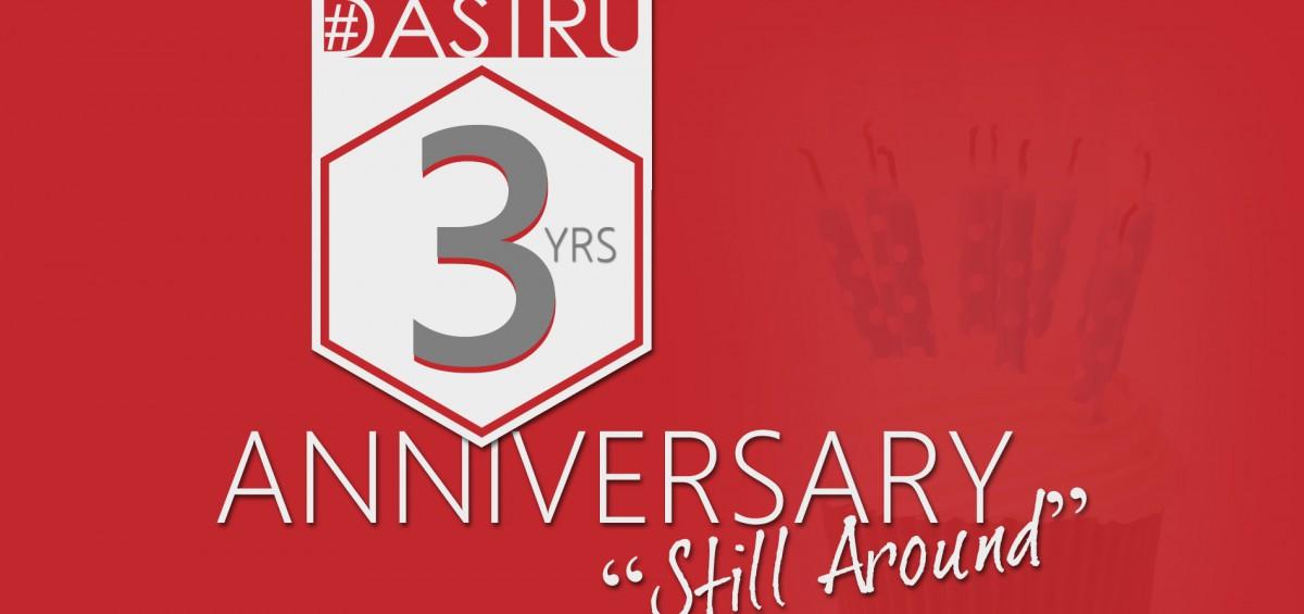 DASTRU 3 years anniversary
