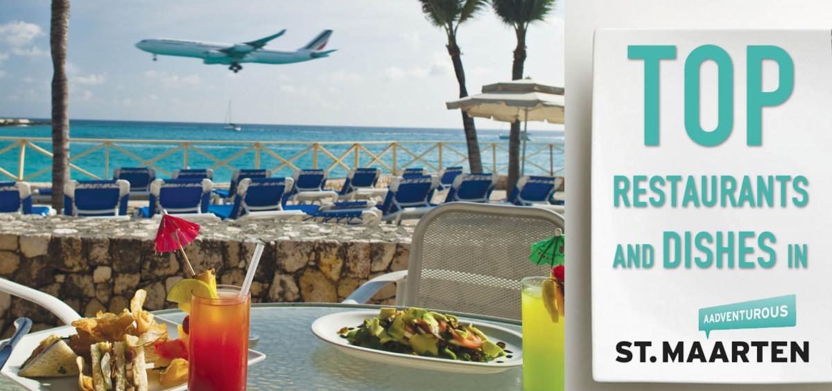 top restaurants dishes in sxm St. Maarten logo
